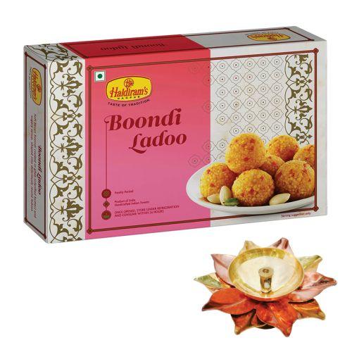 Boondi Ladoo 500 gm with Small Diya