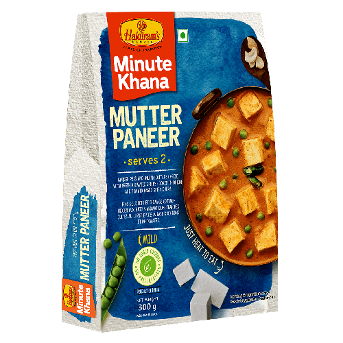 Mutter Paneer (300 gms)