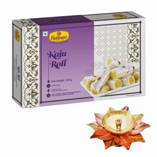 Kaju Roll 500 g with Small Diya