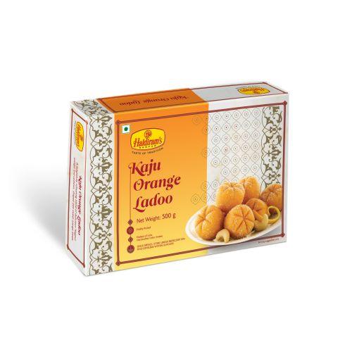 Kaju Orange Ladoo (500 gms)