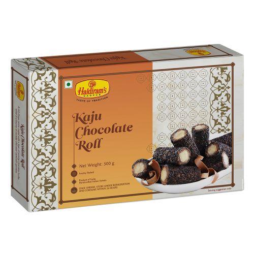 Kaju Chocolate Roll