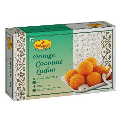 Orange Coconut Ladoo