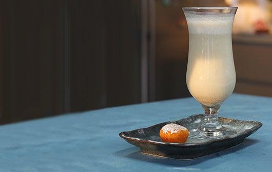 Mootichoor Ladoo milkshake